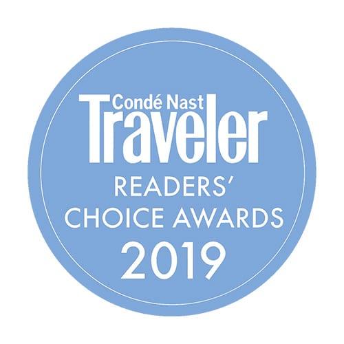 VIVAMAYR wins prestigious Condé Nast Traveler Readers' Choice Award in 2019