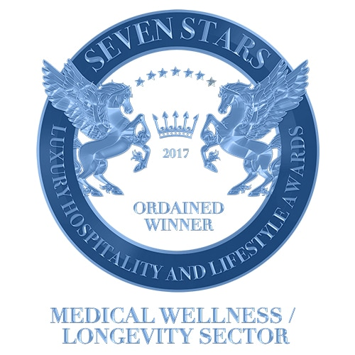 VIVAMAYR wins Seven Stars Luxury Hospitality and Lifestyle Award in the Medical Wellness / Longevity Sector in 2017