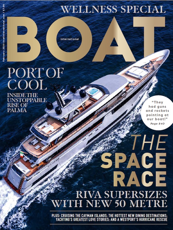 Boat International Cover 2020