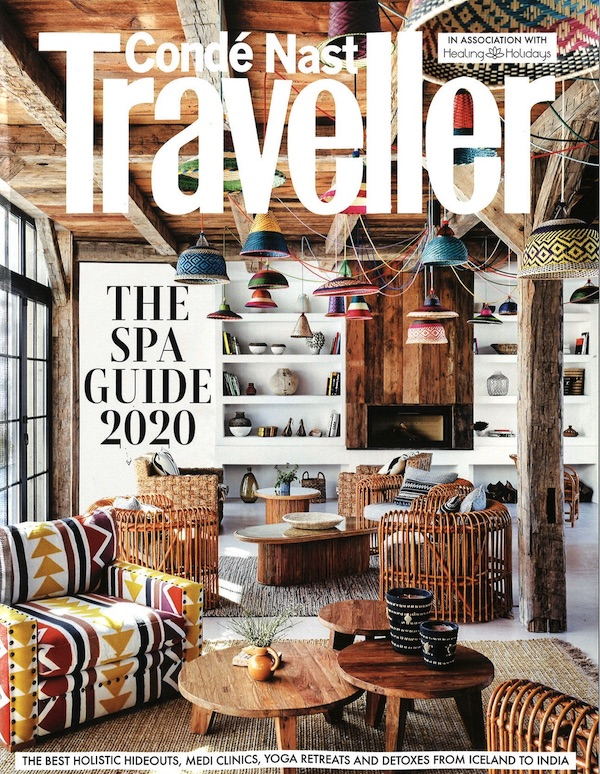 Conde Nast Traveller Cover 2020