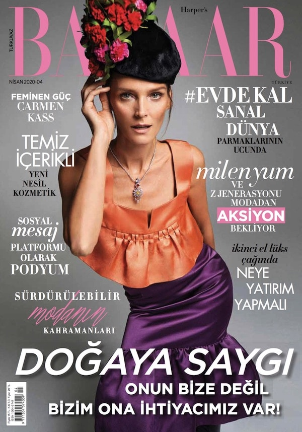 Harpers Bazaar Turkey Cover 2020