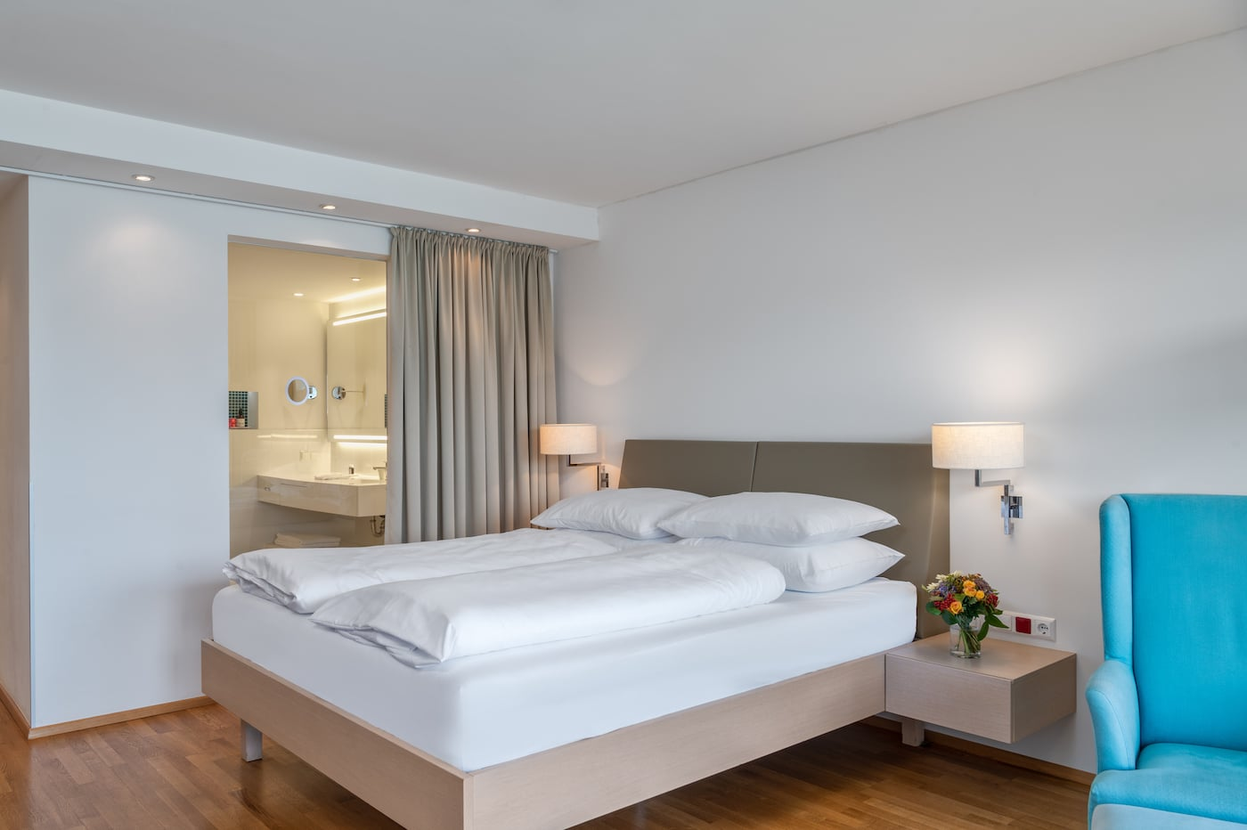 cosy bed in Comfort room VIVAMAYR Maria Wörth