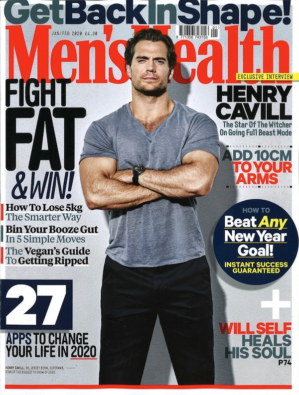 Mens Health Cover 2019