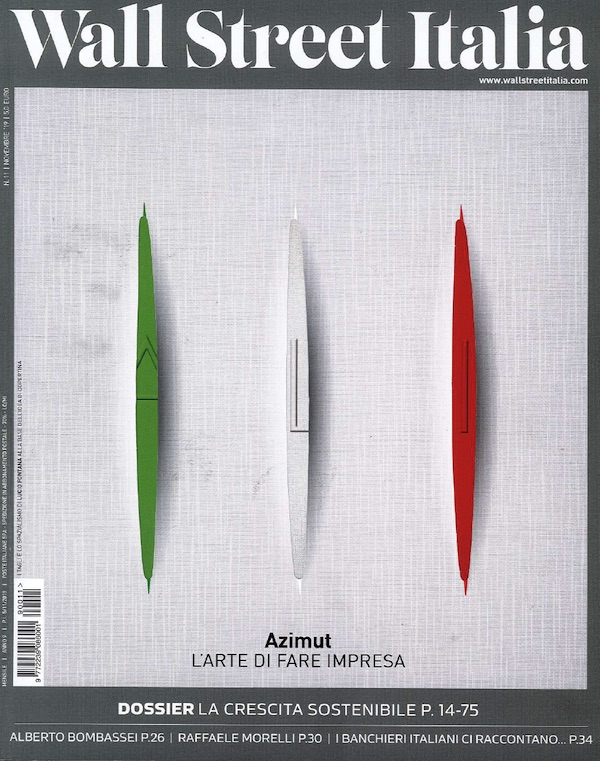 Wall Street Italia Cover 2019