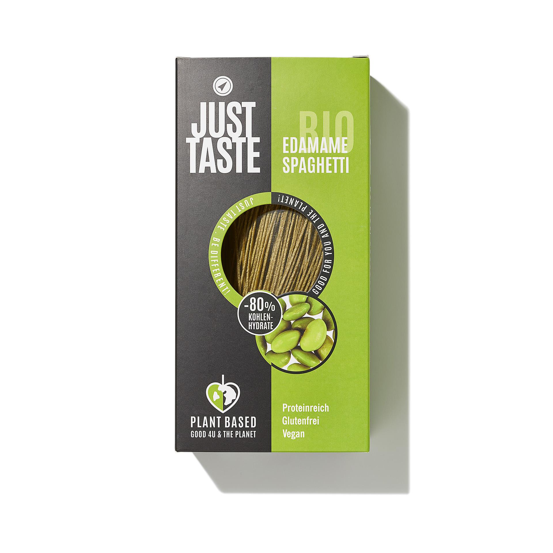 Just Taste Organic Edamame Spaghetti