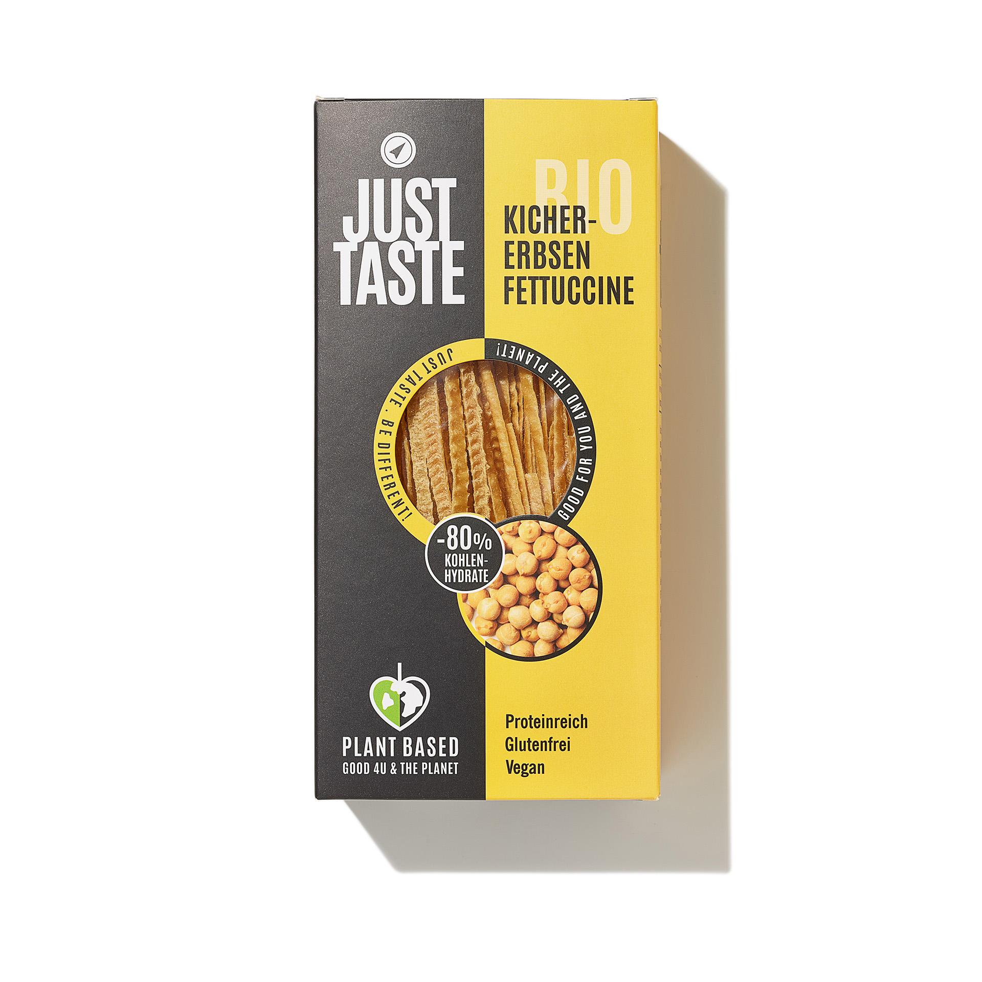 Just Taste Organic Chickpea Fettucine
