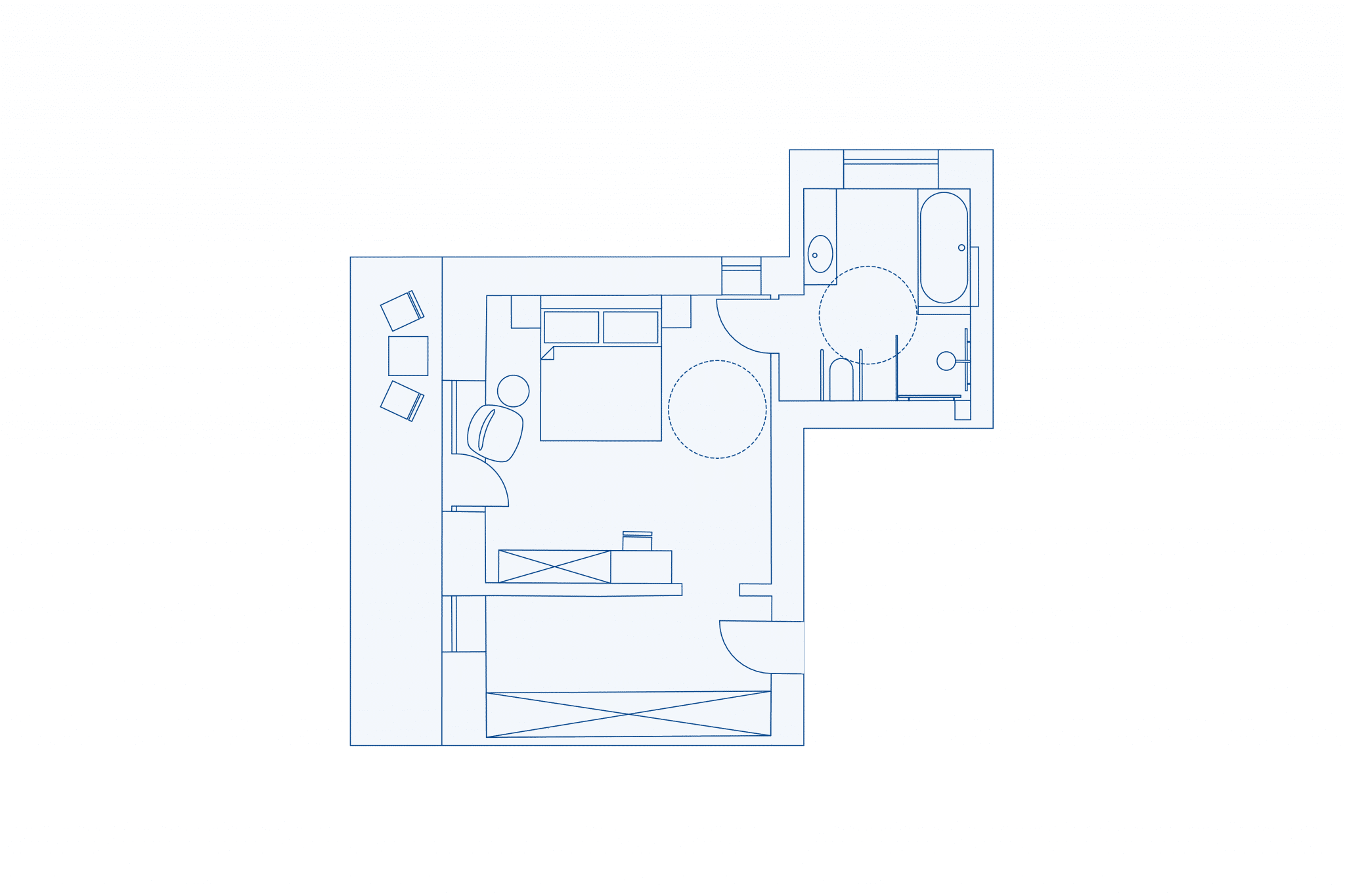 Room layout at VIVAMAYR Maria Wörth