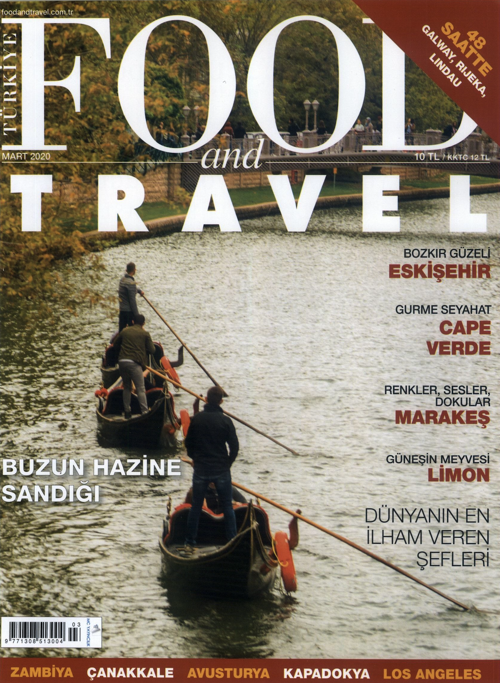 Food and Travel Turkey Cover March 2020