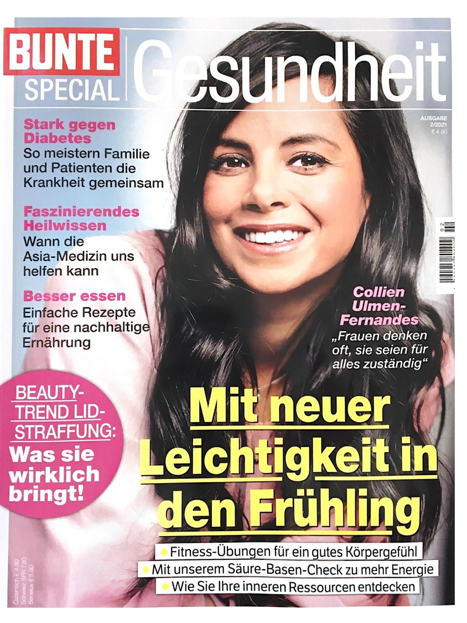 Bunte Gesundheit Cover 2/2021