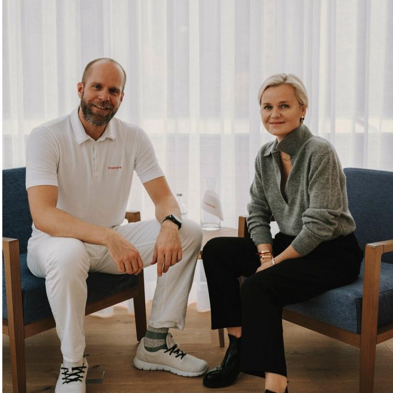 Dr. Barbara Sturm and Dr. Maximilian Schubert